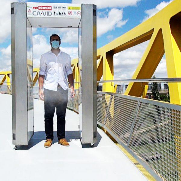 Túnel desactivador COVID19 - CAVID Niebla seca